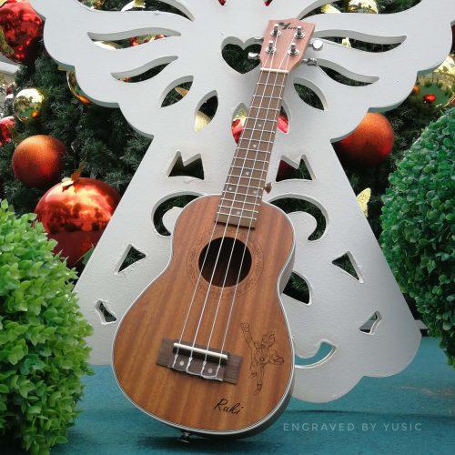 personalized ukulele engrave
