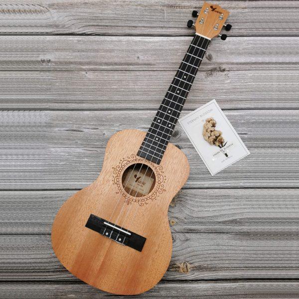 Square Tenor Okoume ukulele